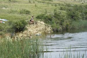 swimming in Clarens Conservancy Dam