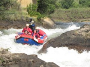 Ash river White water rafting