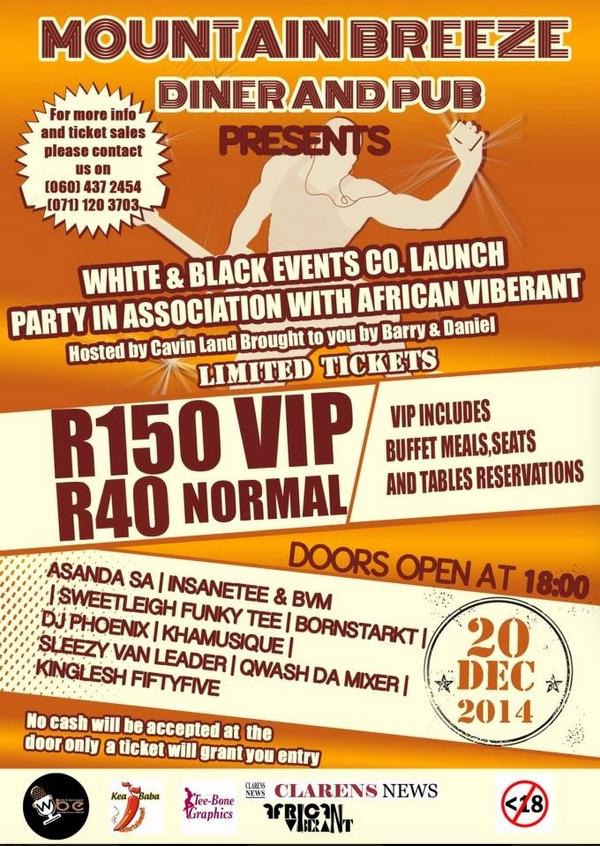 White & Black event