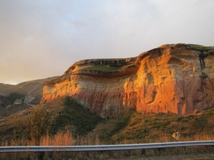 Golden Gate Highlands National Park near Clarens