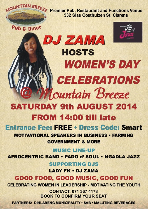 Mountain Breeze Clarens Women's Day event