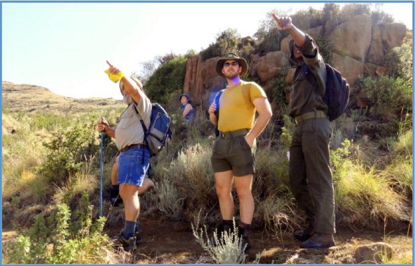 Hiking Trails Around Clarens
